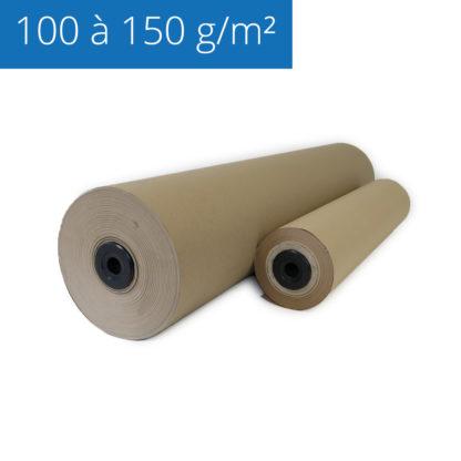 Rouleaux de papier kraft pour l'emballage des objets